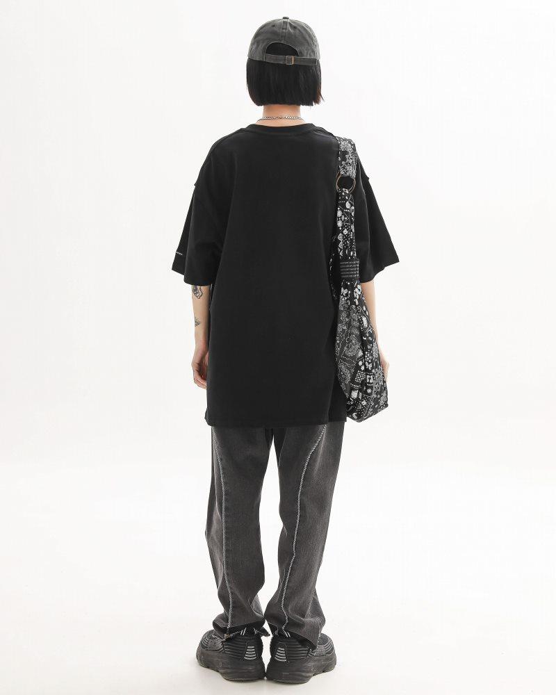 《2色》バタフライメタルロゴTシャツの画像5